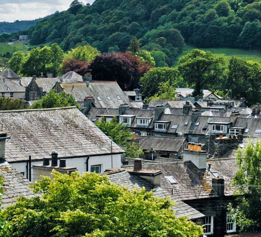 Best luxury hotels in the Lake District - Shows Ambleside village