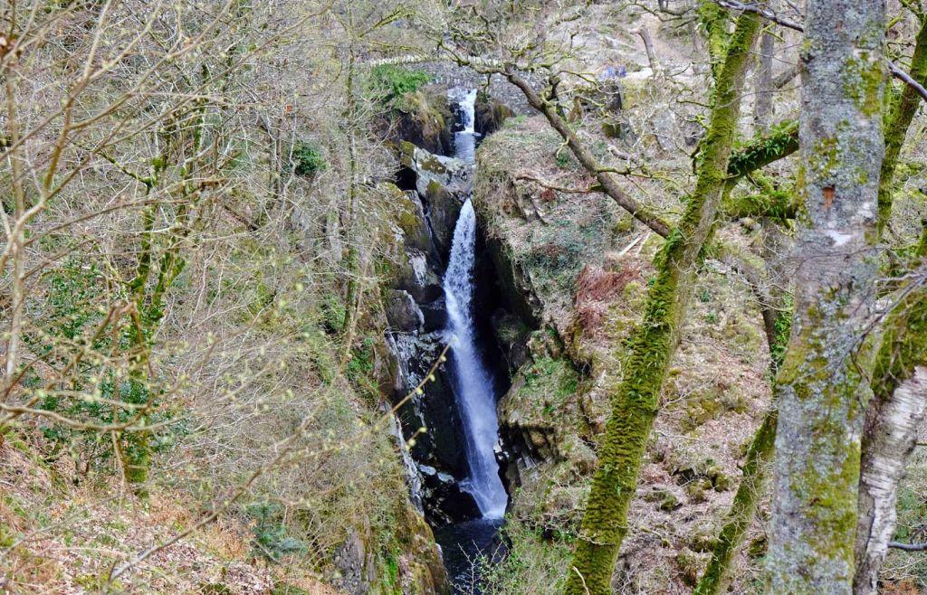 Aira Force waterfall view
