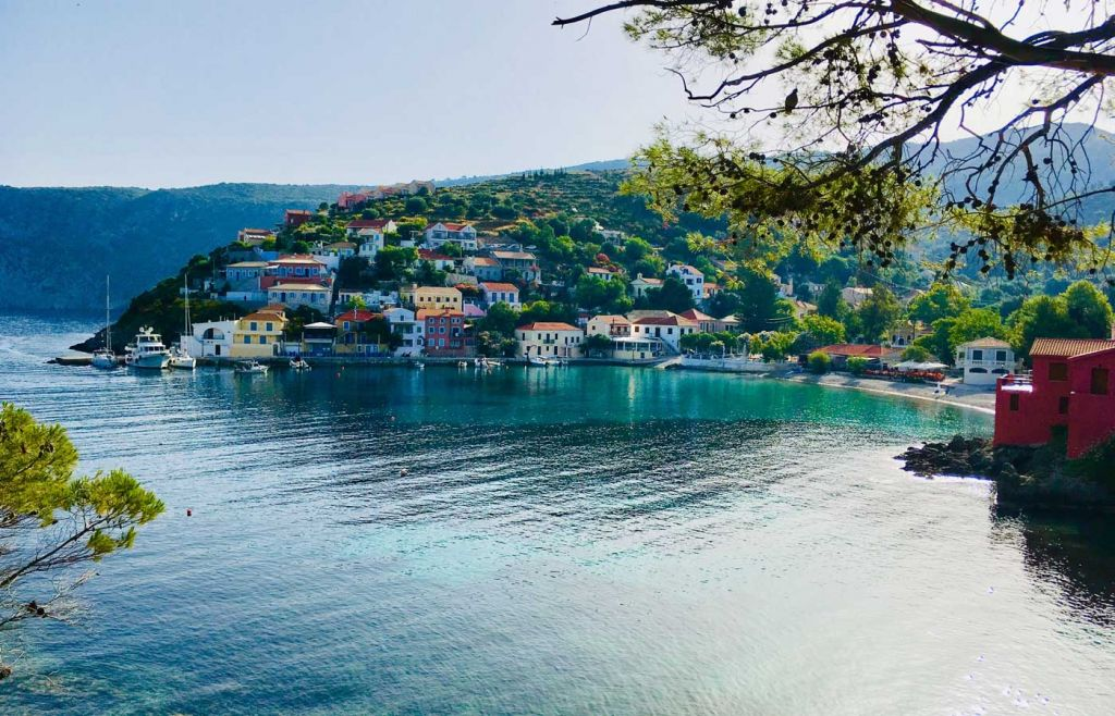 The best Greek islands for couples - Romantic view of a town in Kefalonia