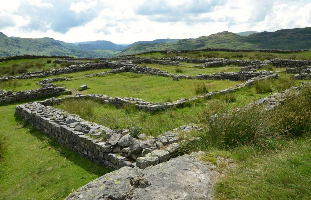 Best places to visit in the Lake District - Hardknott Fort
