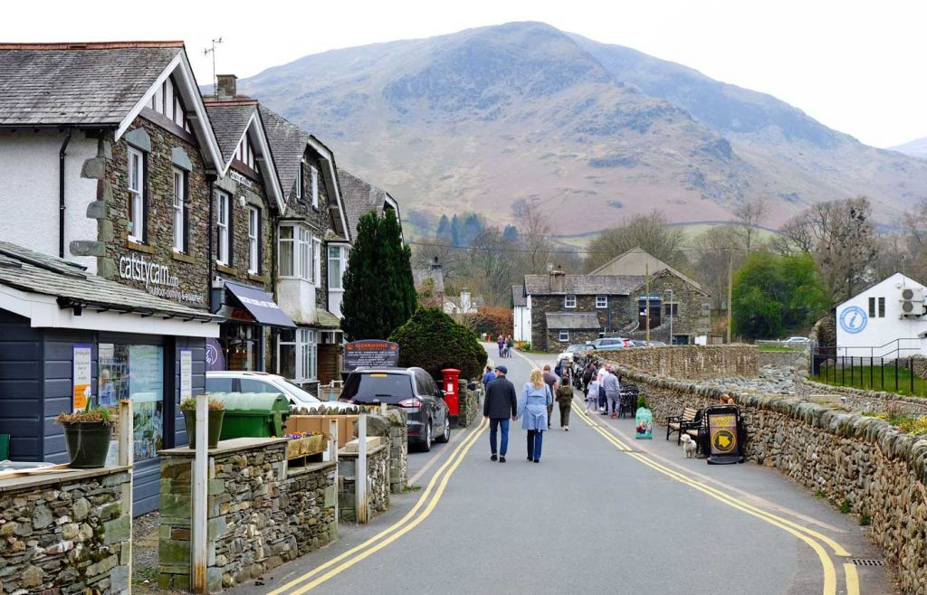 Best places to visit in the Lake District - Glenridding village
