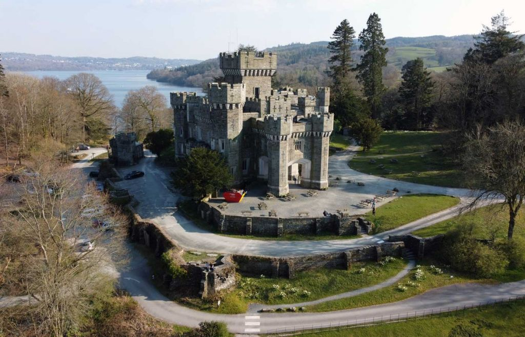 Best Things to do in Windermere - Wray Castle scenery
