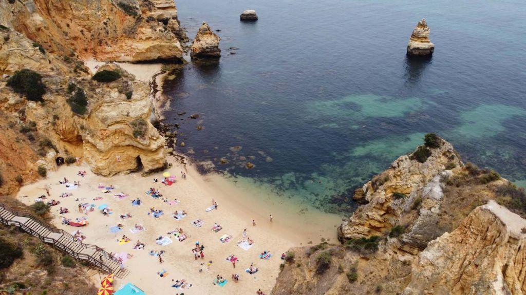 Best places to visit in the Algarve - Praia do Camilo Beach