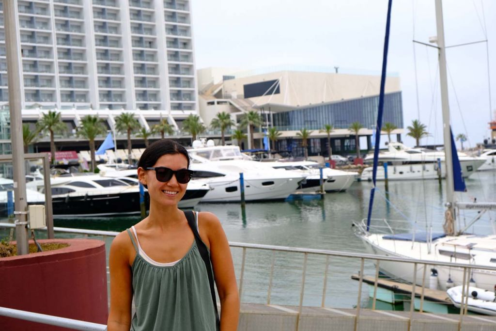 Best places to visit in the Algarve - Susie at Vilamoura marina