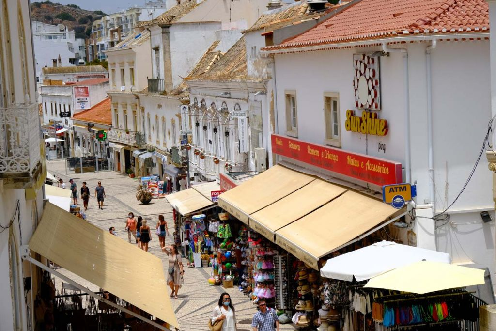 Algarve attractions - Streets of Albufeira