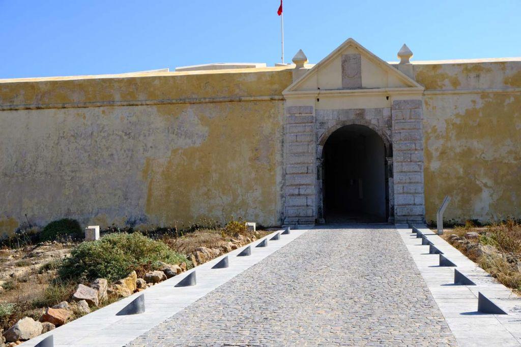Fortress at Sagres - Algarve attractions