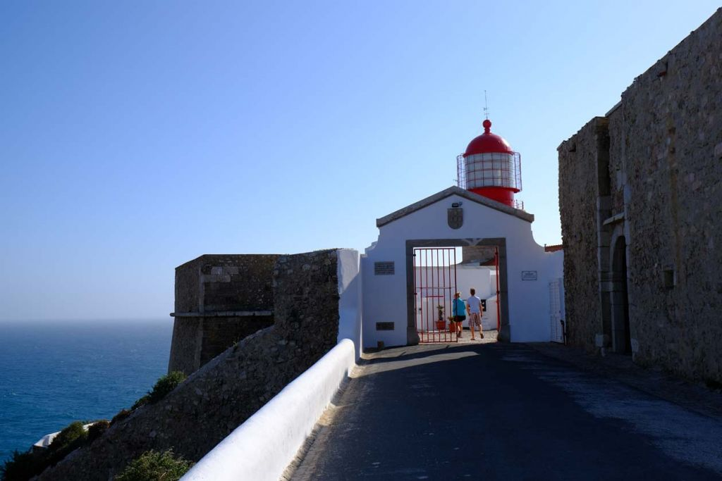 Sagres Lighthouse - Best places to visit in the Algarve