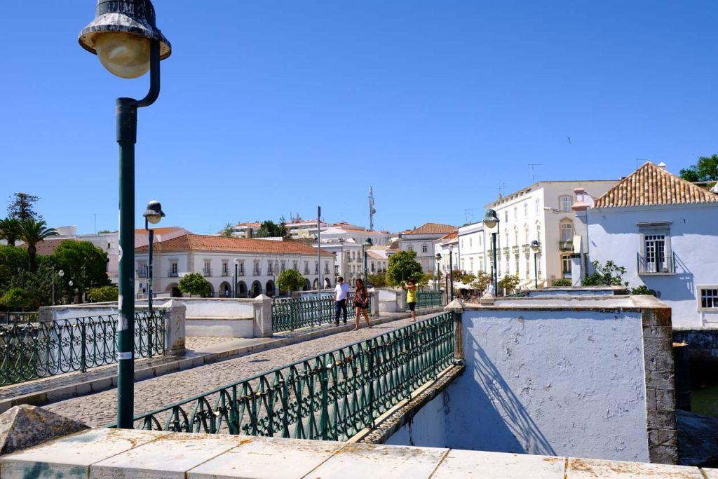 Best places to visit in the Algarve -  Old Roman Bridge view