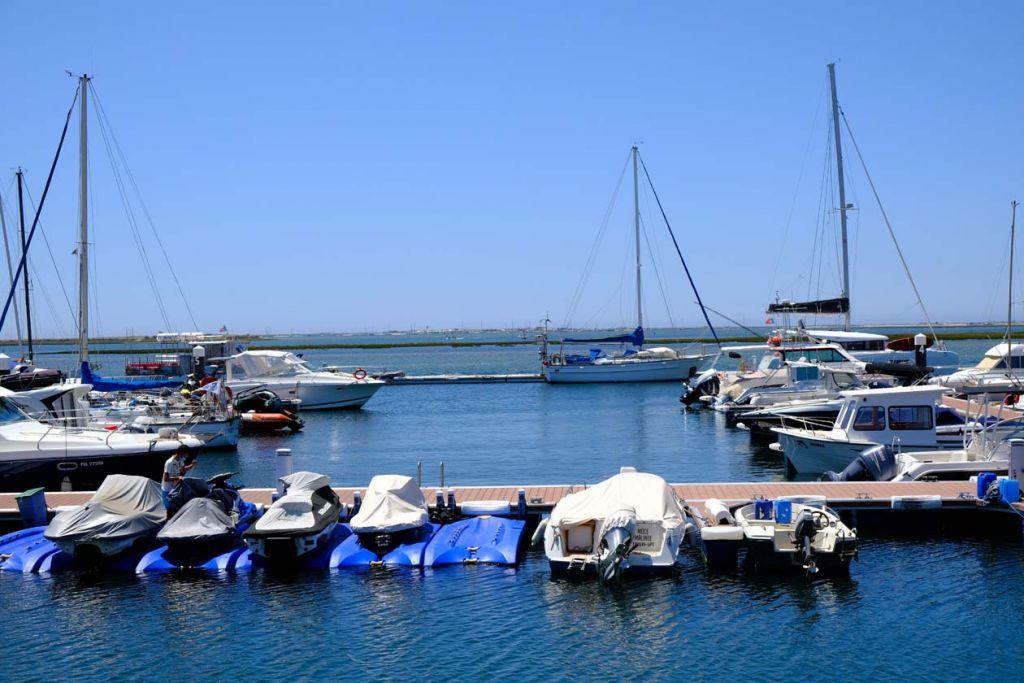 Boats at Olhao marina