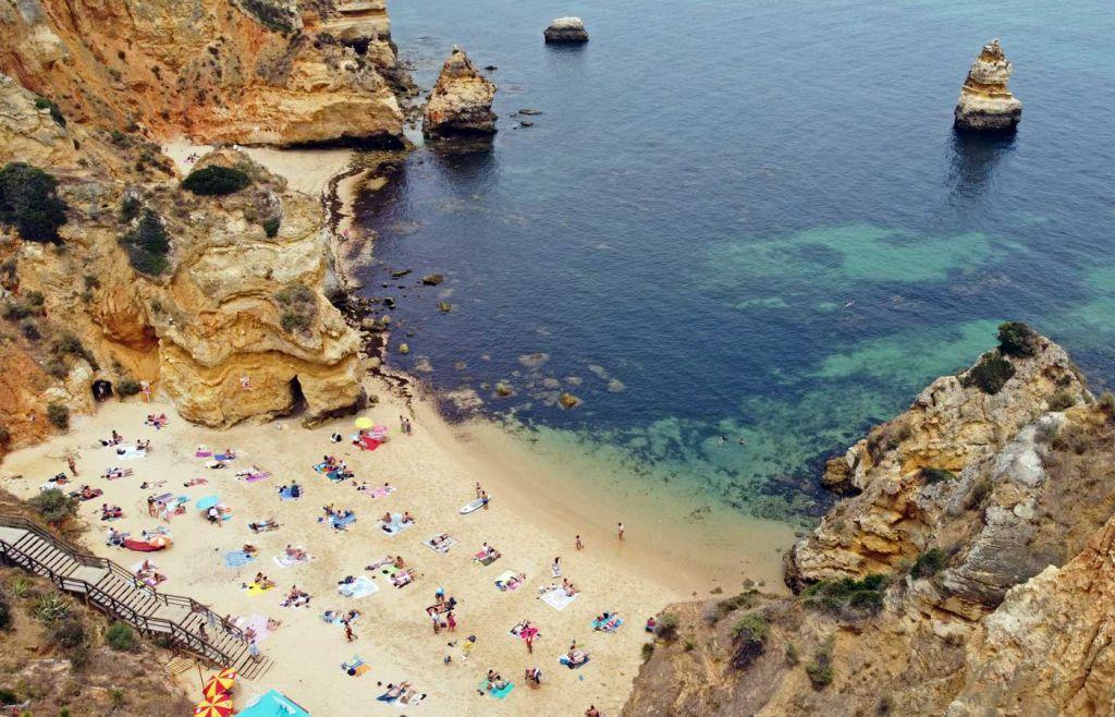 Praia do Camilo beach in Lagos - Algarve