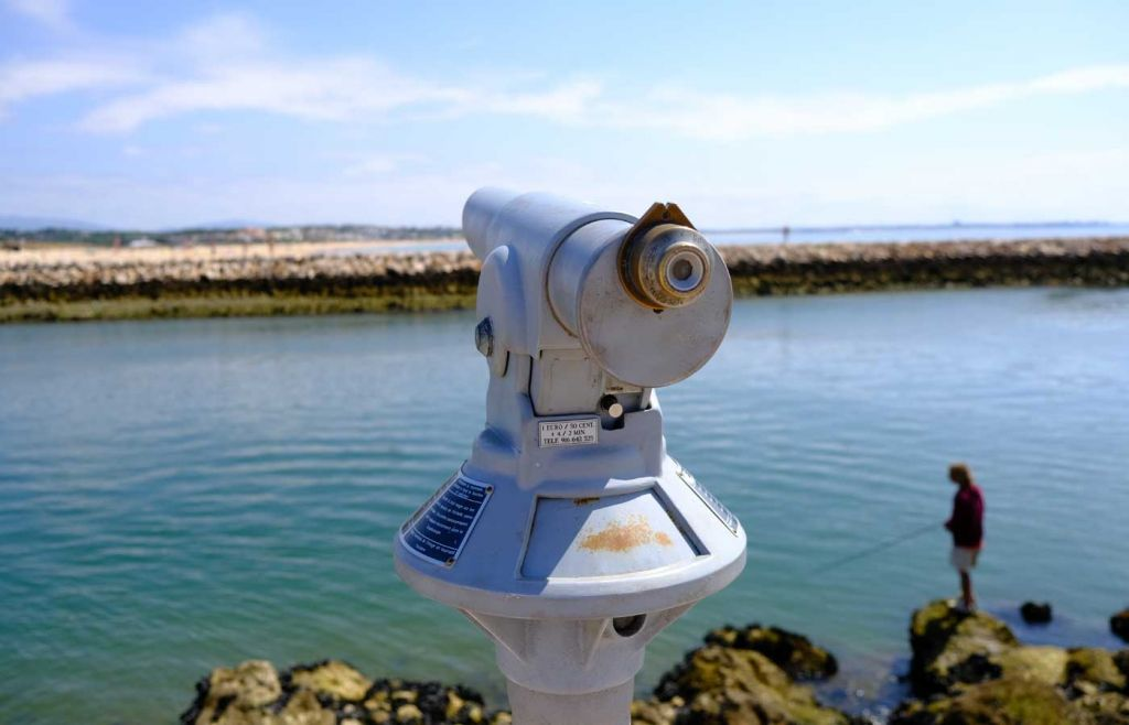 Lagos Algarve travel tips - Shows a view point overlooking the marina