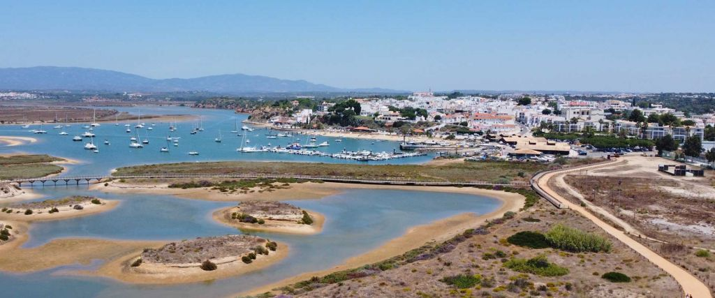 Alvor travel guide - things to do in Alvor - View of town