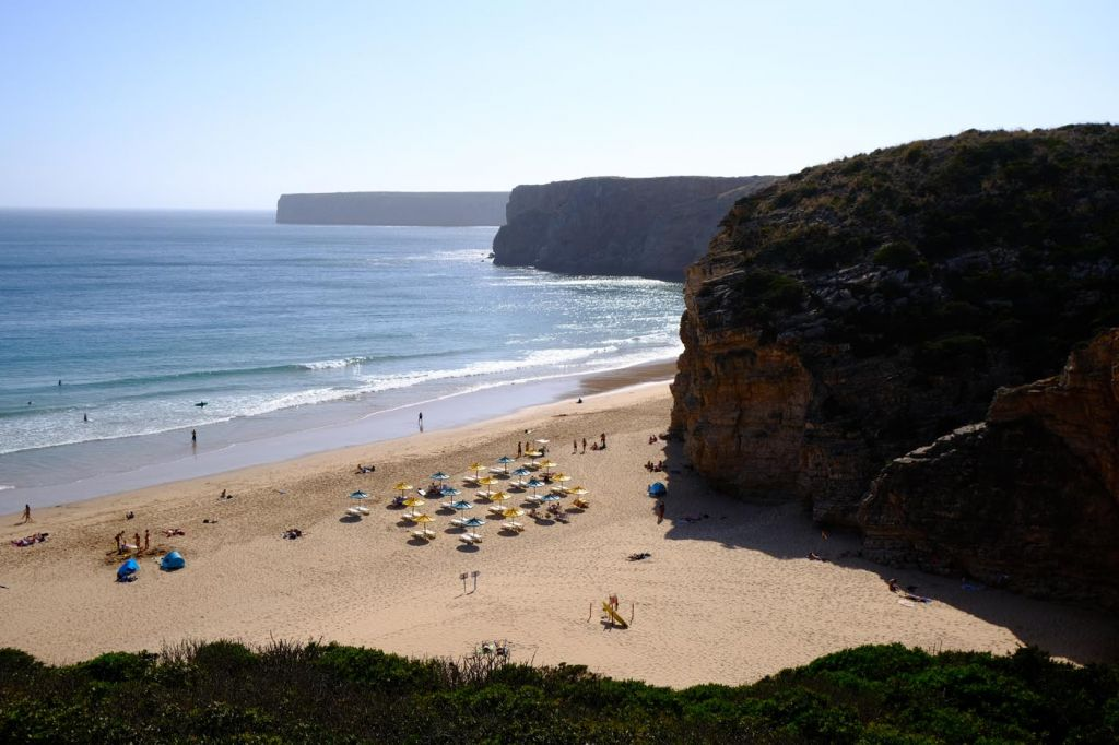 Best places to stay in the Algarve - Praia do Beliche beach view