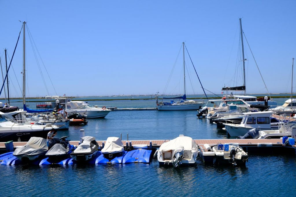 Olhão marina and boats - Best places to stay in the Algarve