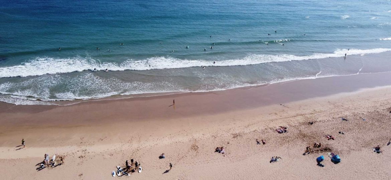 Best Algarve beaches - Shows Praia do Beliche beach shoreline